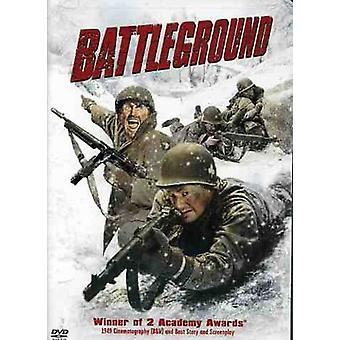 Battleground [DVD] USA import