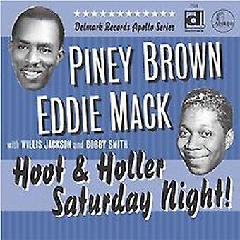 Brown/Mack - importación de Estados Unidos de Blues [CD] Hoot y grito la noche del sábado