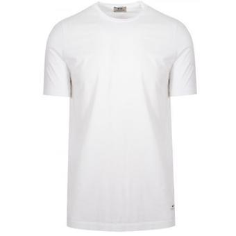 CC Collection Corneliani White Crew Neck T-Shirt