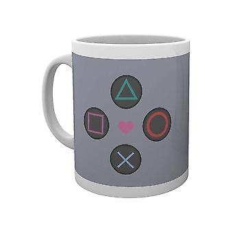 PlayStation, Mug - Push My Buttons