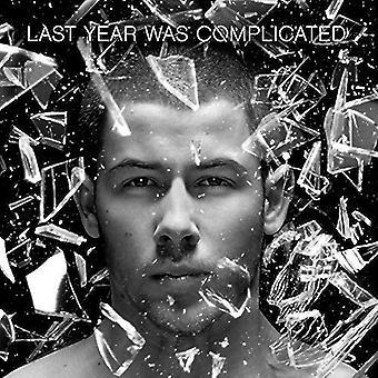 Nick Jonas - Last Year Was Complicated [CD] USA import
