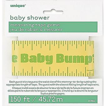 Unique Party Baby Shower Bump Measuring Tape Game