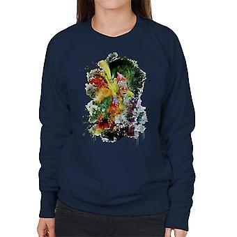 TV Times Elton John Wearing Feathers At The Piano 1978 Women's Sweatshirt