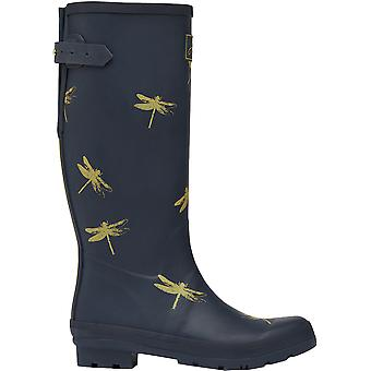 Joules Womens Welly Print Waterproof Tall Wellington Boots