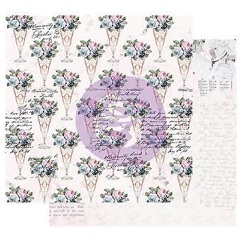 بريما التسويق الشعرية روز 12x12 بوصة أوراق الحلو الذوق