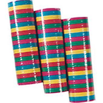 Streamer 3pack per 20 wimpels kleurrijke decoratie carnaval carnaval