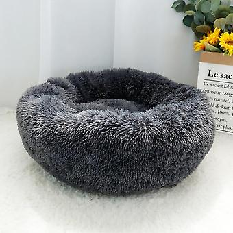 Warm, Fleece And Round - Cushion / Bed For Pets