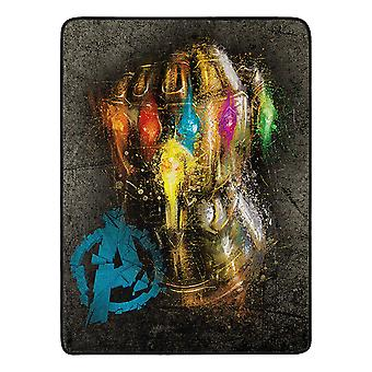 Super Soft Throws - Avengers Infintiy War 2 - Gauntlet 45x60