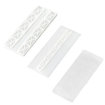 Self Adhesive Wall Mount Power Strip Fixator - Punch Free Seamless Power Strip