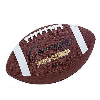 BA075P, Champion Sports Pro Composite Football - Taille 9 (Officiel)