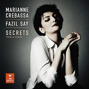 Crebassa*Marianne / Say*Fazil - Secrets - French Songs [CD] USA import