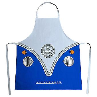 VW autocaravana T1 delantal azul, impreso, 100% algodón /poliéster