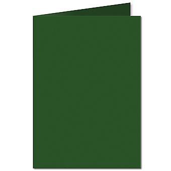 Deep Green. 297mm x 420mm. A4 (Long Edge). 235gsm Folded Card Blank.