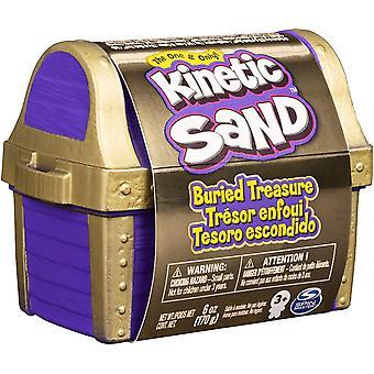 Kinetischer Sand begrabener Schatz