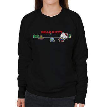Hallo Kitty und Joey spielen Frauen's Sweatshirt