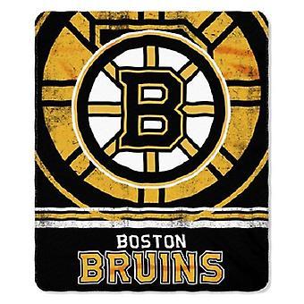 Boston Bruins NHL Northwest Fade Away Fleece Throw