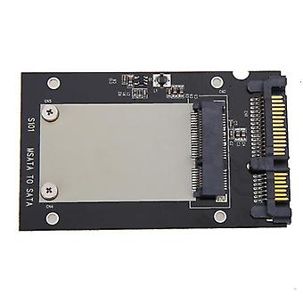Universal Msata Mini Ssd To 2.5 Inch Sata 22-pin Converter Adapter Card