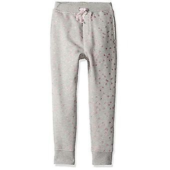 / J. Crew Brand- LOOK by Crewcuts Girls' Jogger, Grey Star, XX-Large (14)