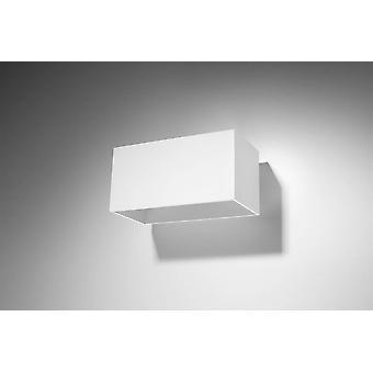 2 Luz hacia arriba Hacia abajo Luz de pared blanca