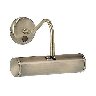 Endon Turner - 1 Immagine Leggera Parete LightAntique Brass, E14