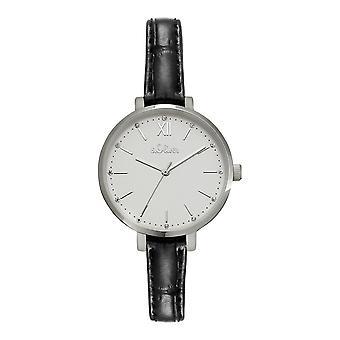 s.Oliver Kvinders Watch Armbåndsur Læder SO-4194-LQ