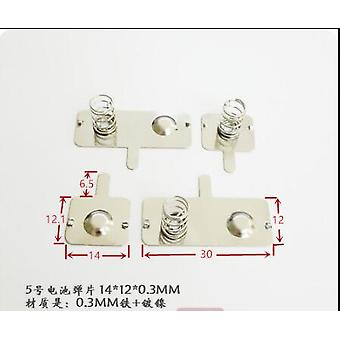 5e Battery Shrapnel Aa Spring Toy, Remote Control Battery Contact