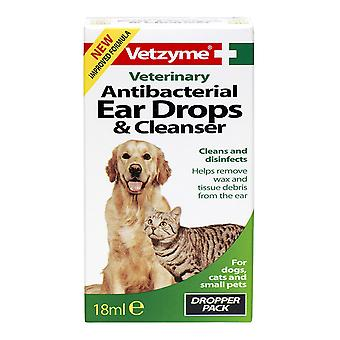 Vetzyme السائل الكلب نظافة الأذن