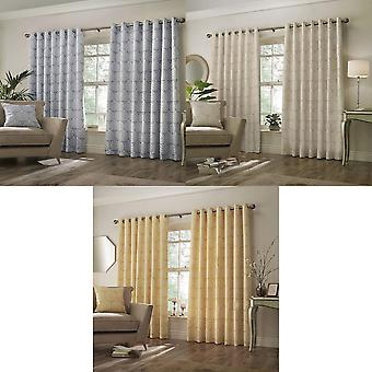 Paoletti Horto Eyelet Curtains