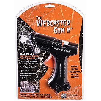 Forum uutuudet Halloween Naamiaispuku Tarvikkeet - Webcaster Gun 2 - Fake Cobweb Dispenser