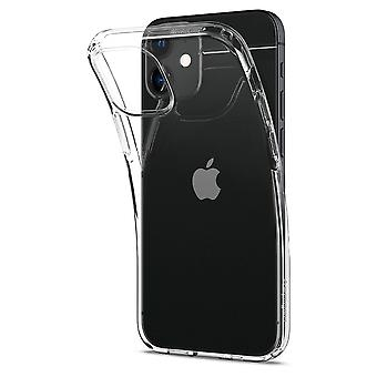 Liquid Crystal Transparent Shell Voor iPhone 12 Mini (5.4)