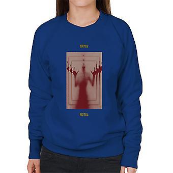 Psycho Bates Motel Norman Bates Mirror Effect Women's Sweatshirt
