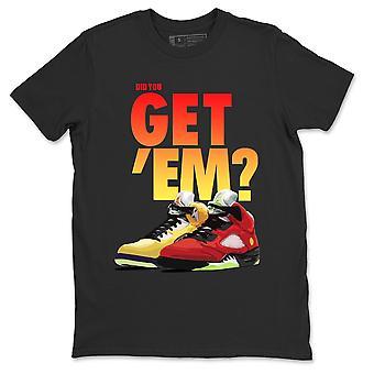 هل تحصل & apos;إم تي شيرت الأردن 5 ما الأحذية الرياضية مطابقة ملابس