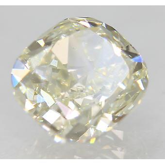 Zertifiziert 1.22 Karat H Farbe VVS2 Kissen natürliche lose Diamant 6.12x5.74mm