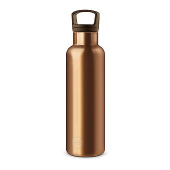 Bronze Gold Bottle With An Ergonomic Handle