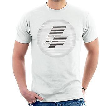Nopea ja raivoisa FF Logo Miesten't-paita