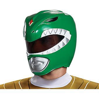 Green Ranger Helmet - Adult - Mighty Morphin