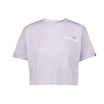 Ellesse наследия Rerta женщин дамы обрезанные мода футболка Ти Фиолетовый