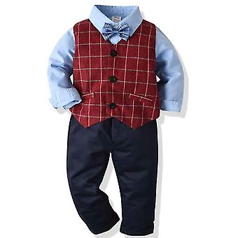 Boys Formal Suits, Waistcoat Shirt & Pant