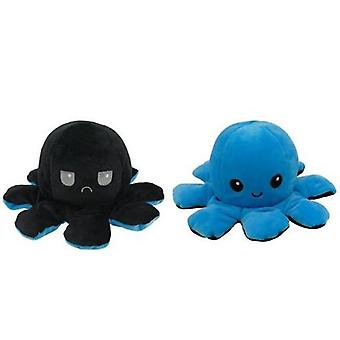Cute Reversible Octopus Plush Stuffed Toy, Soft Animal Home Accessories Cute