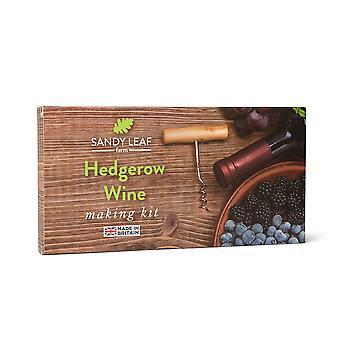 Kit de vinho hedgerow - faça seu próprio vinho de frutas
