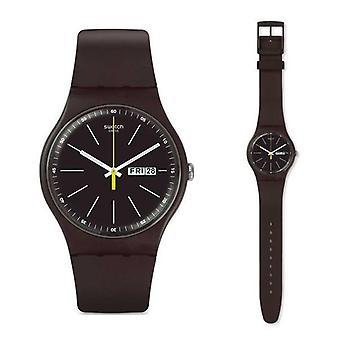 Relógio swatch novo modelo de coleção suoc704
