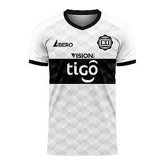 Club Olimpia 2020-2021 Home Concept Football Kit (Libero)