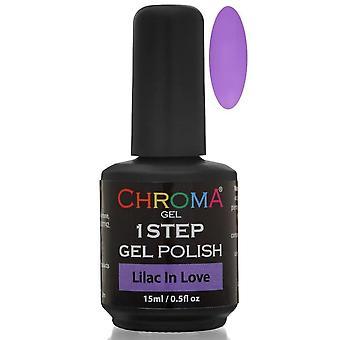 Chroma Gel One Step Gel Polish - Lilac In Love