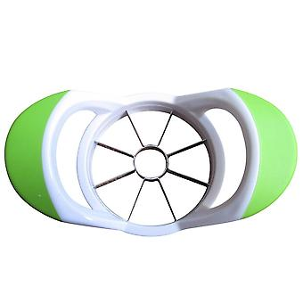 Apple Slicer Apple Corer - Stainless Steel Slicer With Plastic Frame - Kitchen Fruit Slicer - 8 Blades - Green