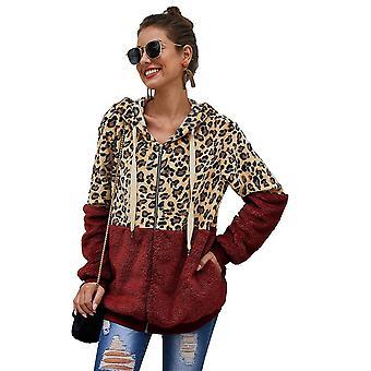 Leopard Printed Hoodies Sweatshirts