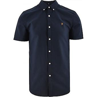 Farah Navy Brewer Shirt