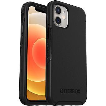 OtterBox Symmetry Series, Sleek Protection for Apple iPhone 12 Mini - Black