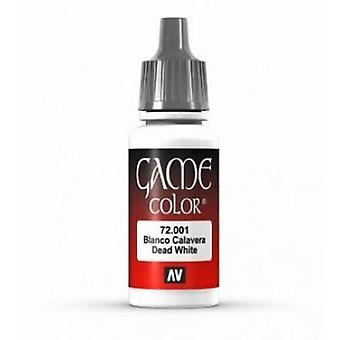 Vallejo Game Color 17ml Acrylic Paint 1 Skull white
