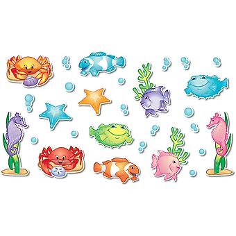 Under The Sea Bulletin Board Accents, 136 Pieces