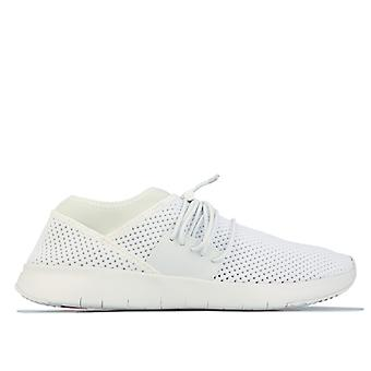 Women's Fit Flop Airmesh Lace Up Sneaker in White